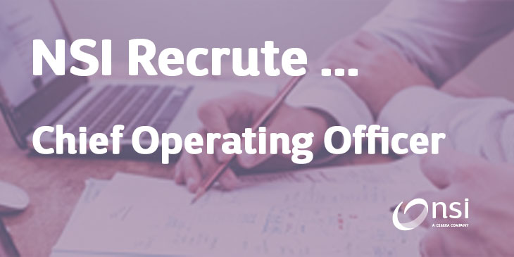 NSI recrute : Chief Operating Officer (h/f)