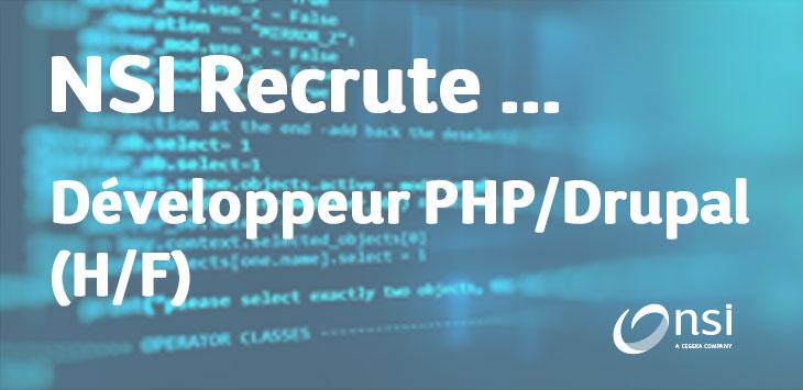 NSI recrute : Développeur PHP/Drupal