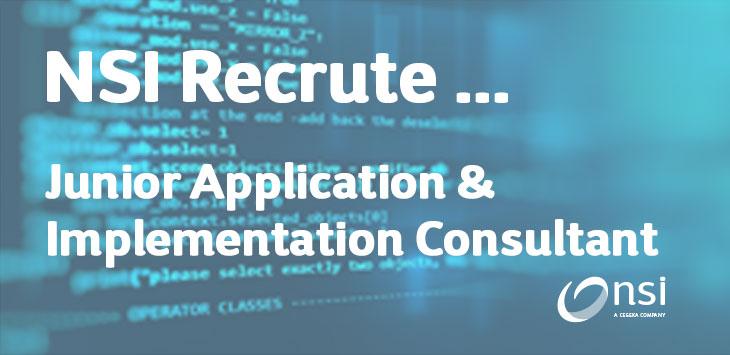 NSI recrute : Junior Application & Implementation Consultant