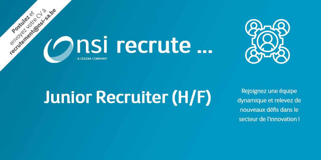 NSI recrute : Junior Recruiter (H/F)