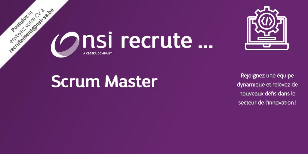 NSI recrute : Scrum Master (H/F)