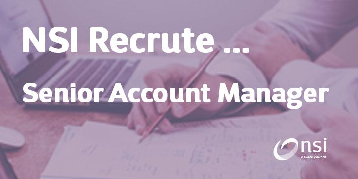 NSI recrute : Senior Account Manager IT (H/F)