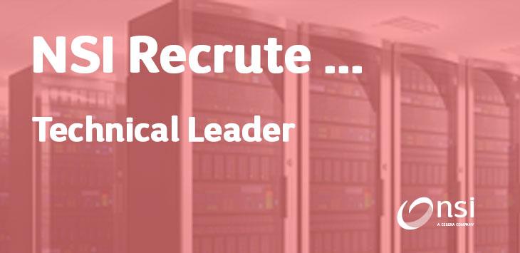 NSI recrute : Technical Leader FR/EN