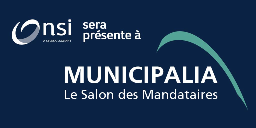 NSI sera présente au Salon Municipalia 2021