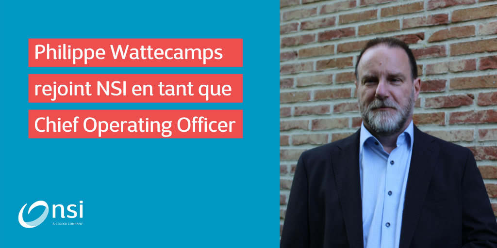 Philippe Wattecamps rejoint NSI en tant que Chief Operating Officer