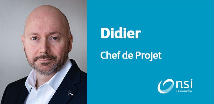 Didier - Chef de projet
