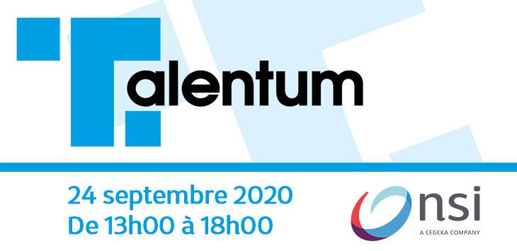 NSI participe au salon de l'emploi Talentum Liège