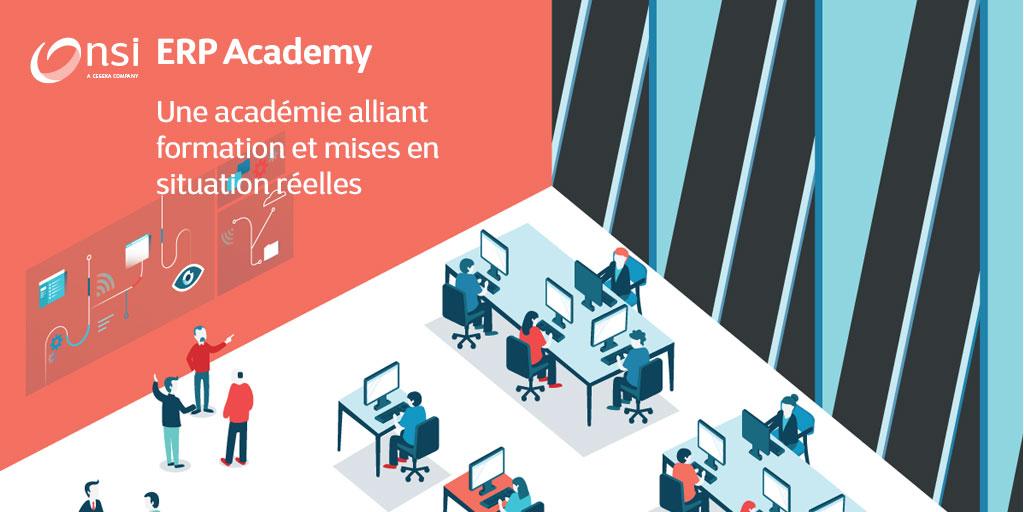 Une académie alliant formation et mises en situation réelles