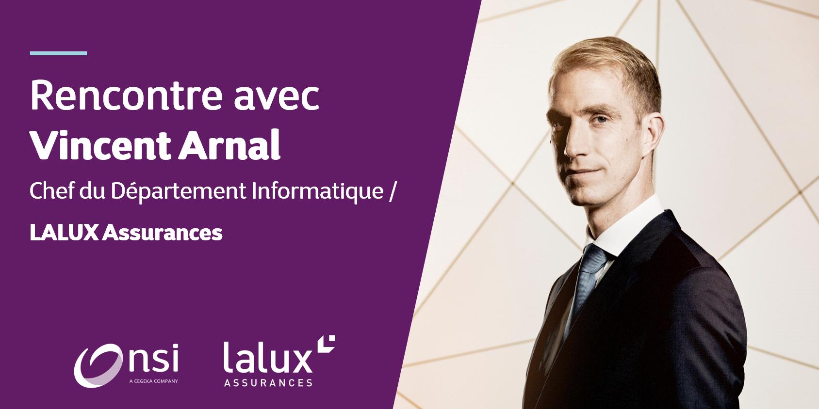 LALUX Assurances - Vincent Arnal