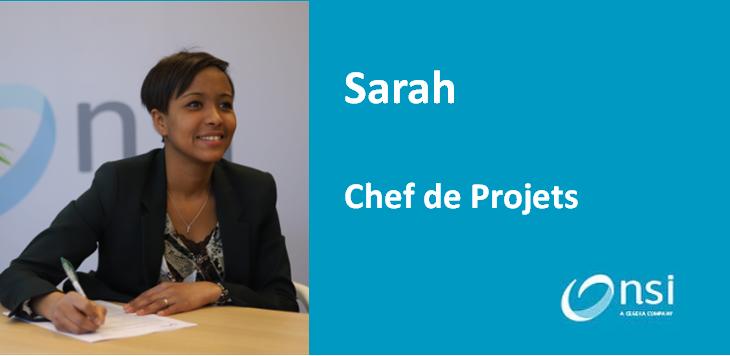 Sarah - Chef de projets
