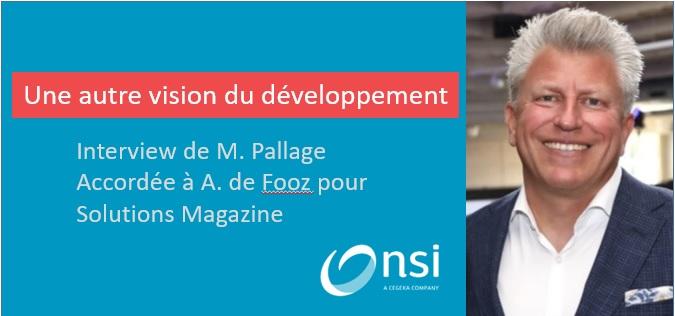 NSI, une autre vision du développement
