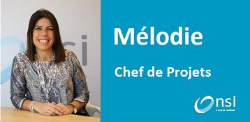 Mélodie - Chef de projets